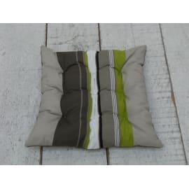 Cuscino per seduta Lola mineral 37x40 cm