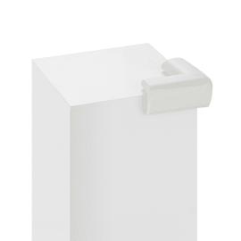 Furniture child protection Bianco in plastica / pvc Sp 30 mm 4 pezzi
