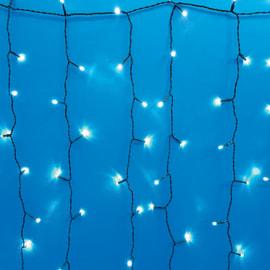 Tenda luminosa 500 lampadine led bianco freddo H 100 x L 500 cm