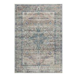 Tappeto persiano Precious bianco e beige 160x230 cm