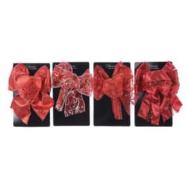 Ornamento appeso rosso Ø 15 cmL 11 x H 15 cm