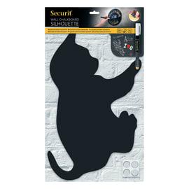 gatto nero 48x28.8 cm