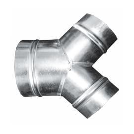 Derivazione a y EQUATION D125/80/80 in metallo