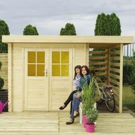 Casetta da giardino in legno Stoccarda 3.92 m² spessore 18 mm
