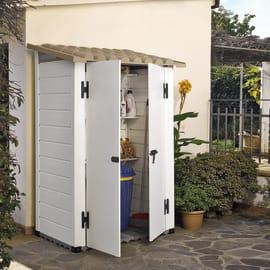 Casetta da giardino in pvc Tuscany Evo 100 0.88 m² spessore 20 mm