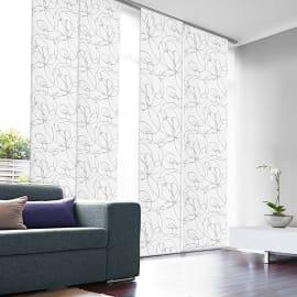 Pannello giapponese INSPIRE Zig zag bianco 60x300 cm