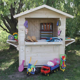 Chiosco in legno Mojito 3 ribalte 2.92 m² spessore 14 mm