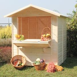 Chiosco in legno Mojito 1 ribalta 2.92 m² spessore 14 mm