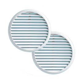 Griglia di aerazione in abs forma tondo Ø 15.5 cm