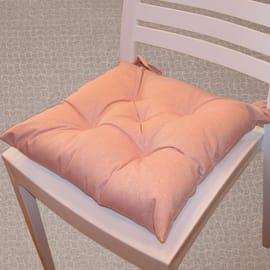 Cuscino per seduta lurex rosa 38x40 cm