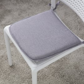 Cuscino per seduta Lastrina joy grigio 40x40 cm