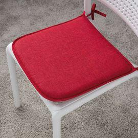 Cuscino per seduta Lastrina joy rosso 40x40 cm