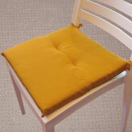 Cuscino per seduta Antimacchia giallo 40x40 cm