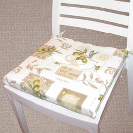 Cuscino per seduta Antimacchia verde 40x40 cm
