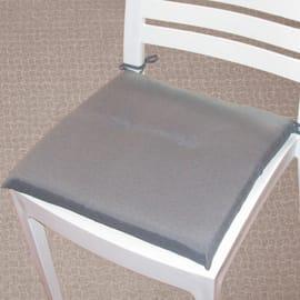 Cuscino per seduta Antimacchia grigio 40x40 cm