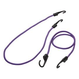 Cavo elastico viola L 1 m x Ø 9 mm 2 pezzi