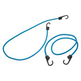 Cavo elastico blu L 1.2 m x Ø 9 mm 2 pezzi