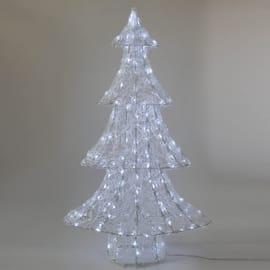 Albero bianco freddo H 98 cm
