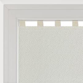 Tendina vetro Chicco ecru passanti nascosti 58x240 cm