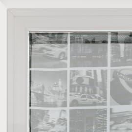 Tendina vetro City grigio tunnel 45x120 cm