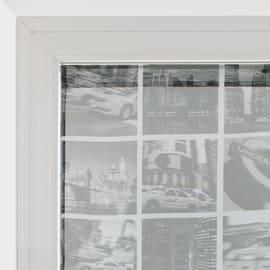 Tendina vetro City grigio tunnel 60x120 cm