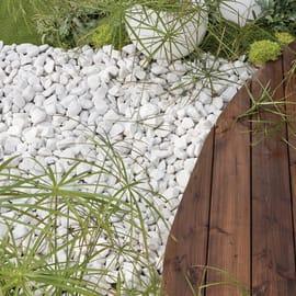 Ciottolo NATERIAL bianco carrara