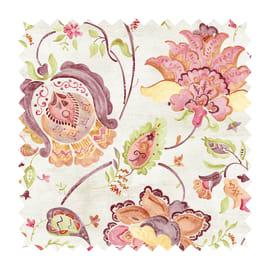 Tessuto Samarcanda indienne rosa 280 cm