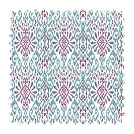 Tessuto Samarcanda maiolica fucsia 280 cm