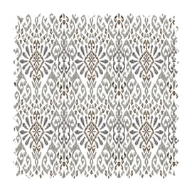 Tessuto Samarcanda maiolica tortora 280 cm