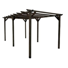 Pergola Apple in legno marrone L 500 x P 300 x H 248 cm