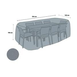 Copertura protettiva per tavolo e sedia in poliestere NATERIAL L 234 x P 104 x H 104 cm