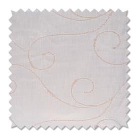 Tessuto al taglio Paola bianco 90 cm