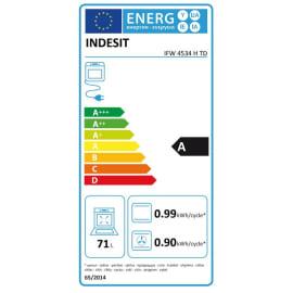 Forno Elettrico multifunzione ventilato 6 funzioni INDESIT IFW 4534 H/TD