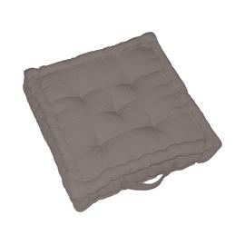 Cuscino da pavimento INSPIRE Elema tortora 60x60 cm Ø 13 cm