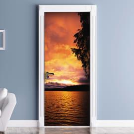 Sticker Lake sunset 9x96 cm