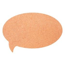 Bacheca in sughero bubble marrone 45.5x30.5 cm