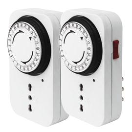Switch timer EVOLOGY 1ITD/2AX2 meccanico giornaliera