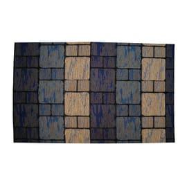 Passatoia Deco blu 53x53 cm
