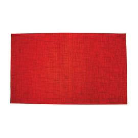 Passatoia Deco rosso 53x53 cm