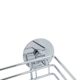 Ripiano per le spezie adesivo argento P 14.5 cm x L 240 x H 60 mm
