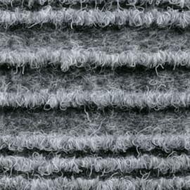Passatoia Eco-stripe grigio 65x65 cm