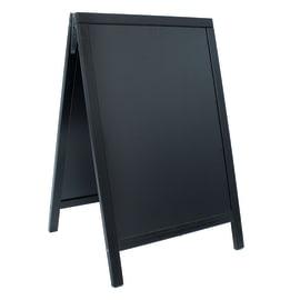 Lavagna per gesso Duplo nero 55x85 cm