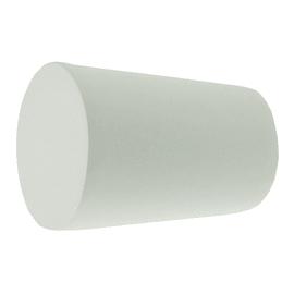 Finale per bastone Ø16mm Stelvio cilindro in metallo opaco Set di 2 pezzi