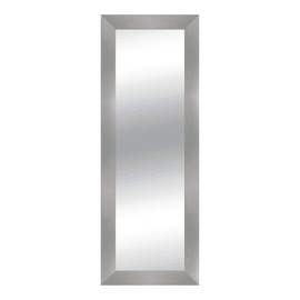 Specchio Osaka quadrato acciaio 57x157 cm