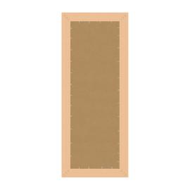 Specchio Venere rettangolare bianco 50x150 cm
