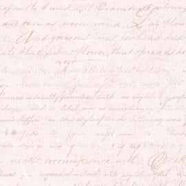 Carta da parati Corsivo avorio