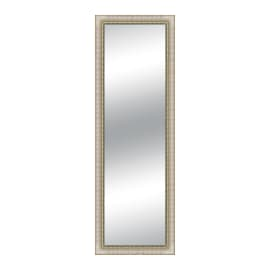 Specchio Venere rettangolare avorio 40x125 cm