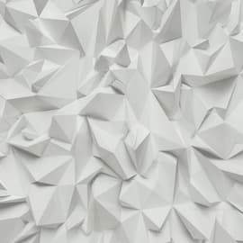 Carta da parati Iceberg bianco