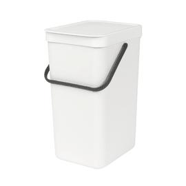 Pattumiera manuale bianco 16 L