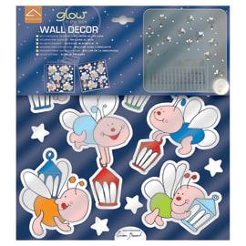 Sticker Lucciole 31.5x34 cm